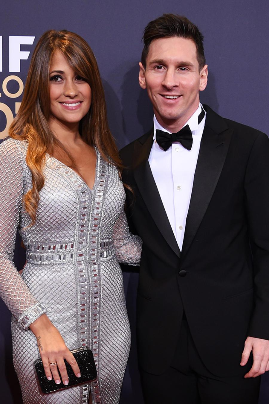 Lionel Messi and Antonella Roccuzzo