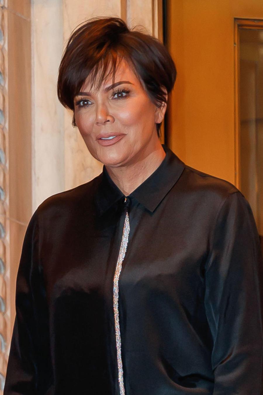 Kris Jenner con Kim Kardashian
