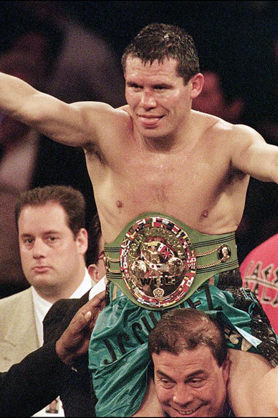 WBC super lightweight champion Julio Cesar Chavez