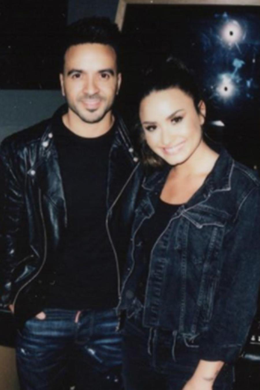 Demi Lovato and Luis Fonsi