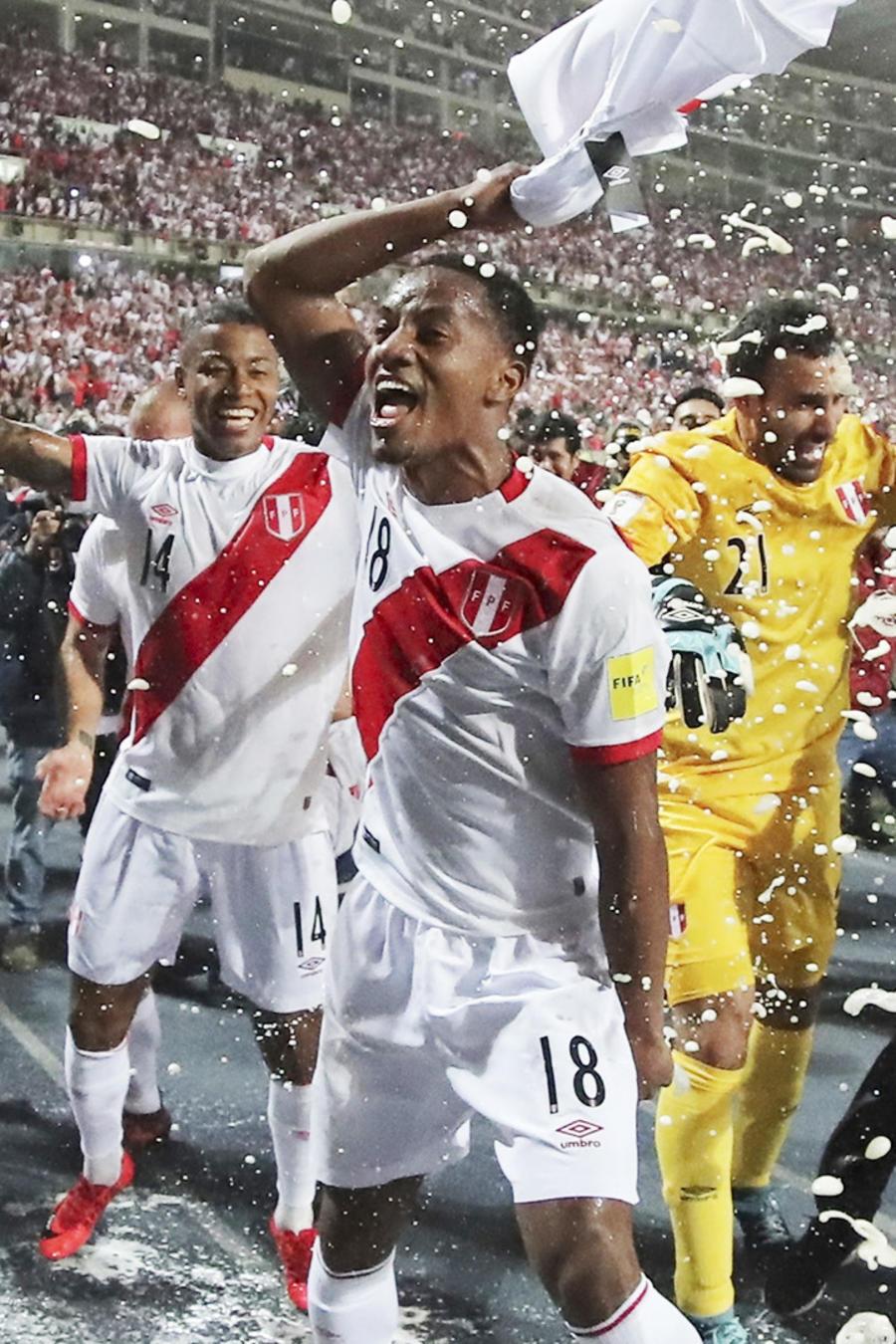 Peru v New Zealand