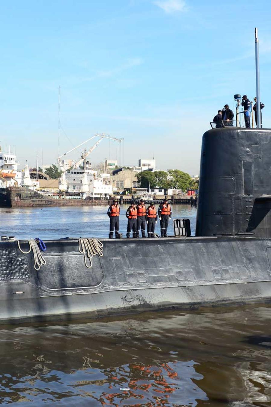 Submarino desaparecido