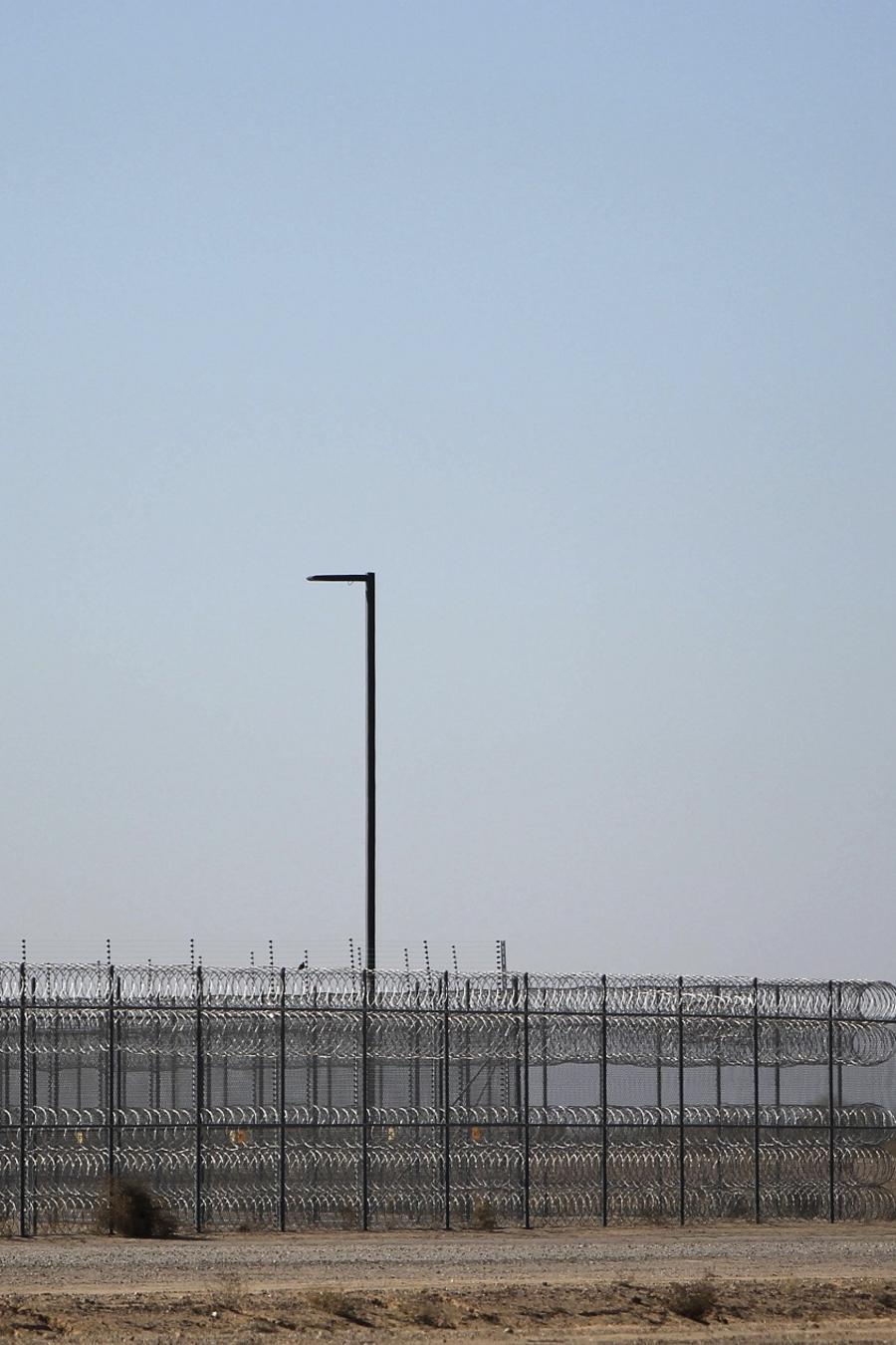 Un centro de detención en Estados Unidos.