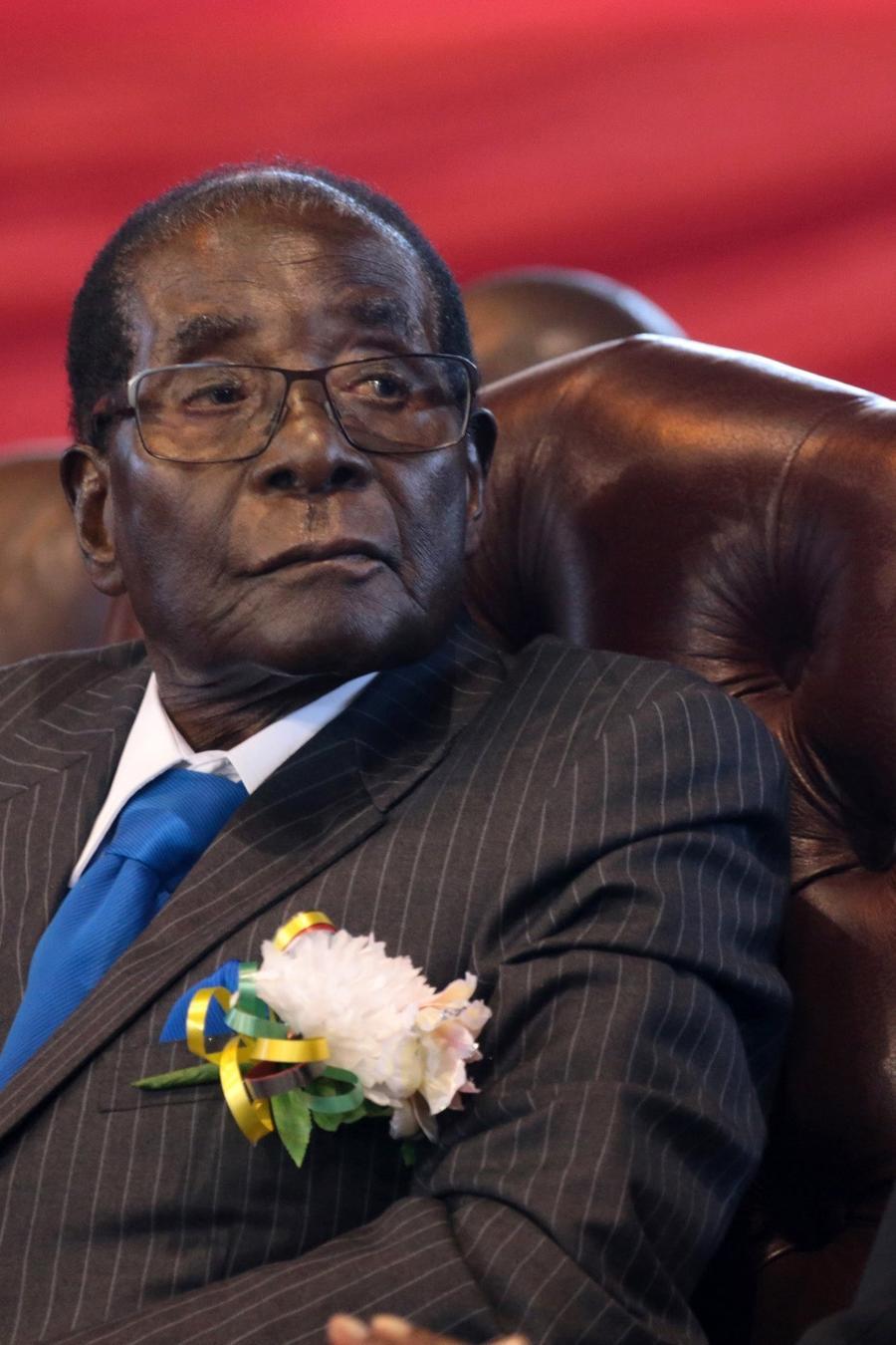 ROBERT MUGABE DIMITE COMO PRESIDENTE DE ZIMBABUE