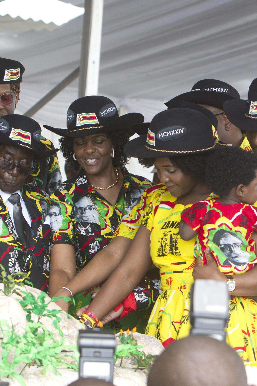 Cumpleaños 93 de Mugabe