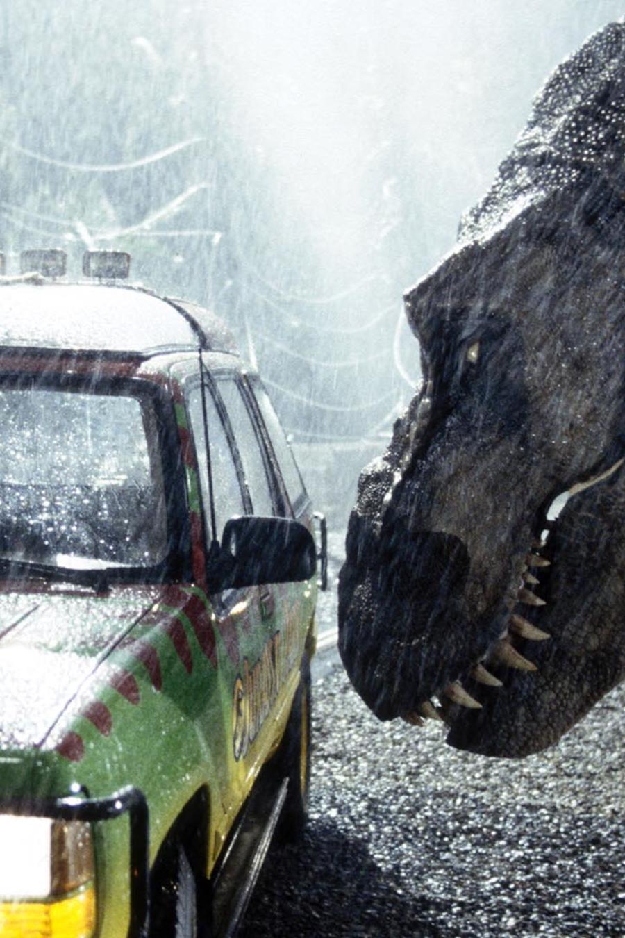 Scene from Jurassic Park