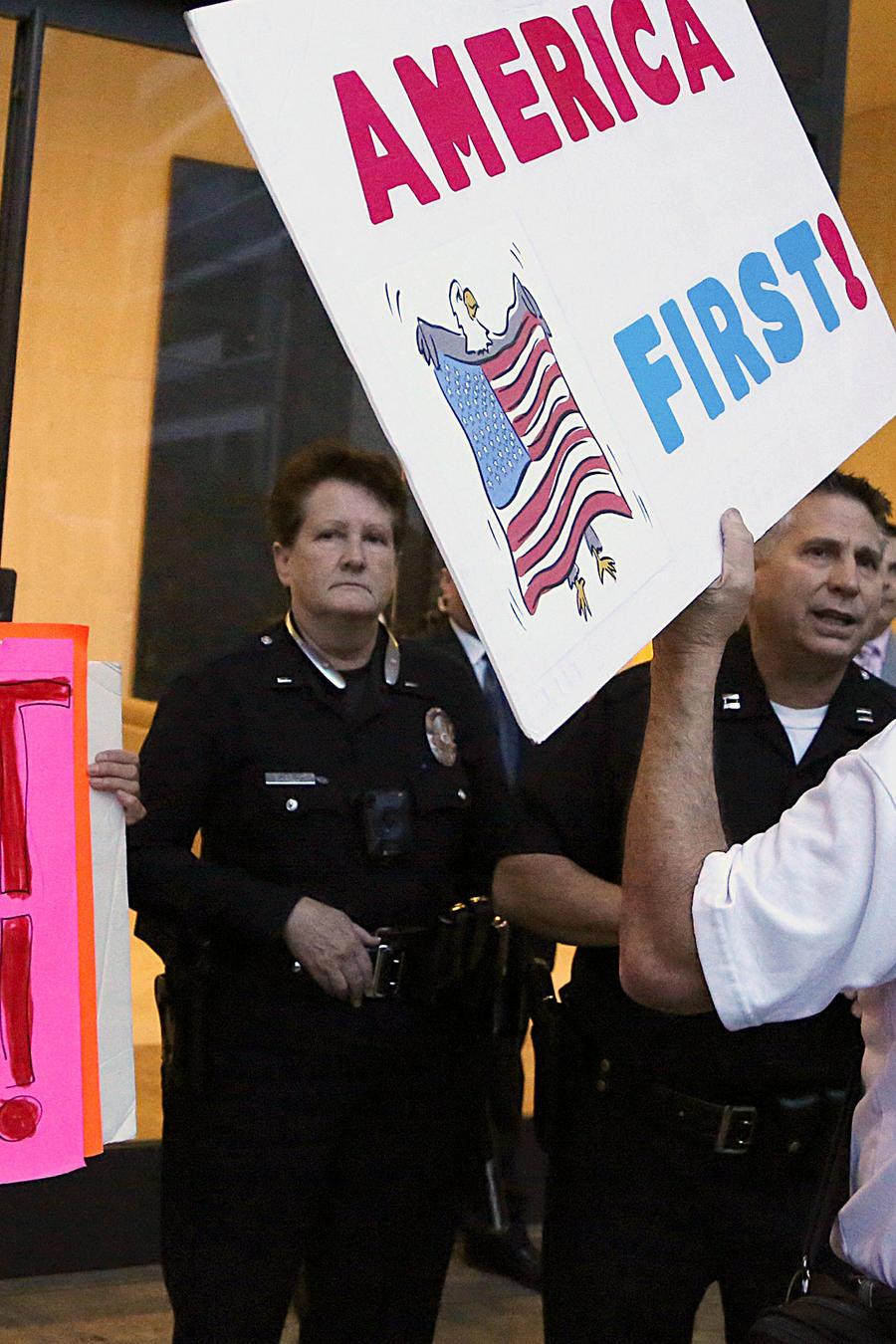 Manifestaciones sobre el programa DACA en EEUU