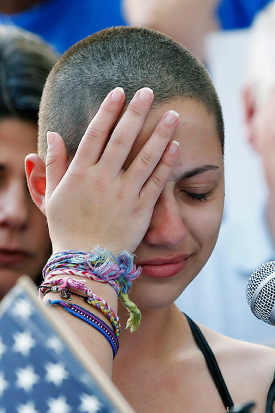 Emma González, una de las sobrevivientes de la tragedia en Florida