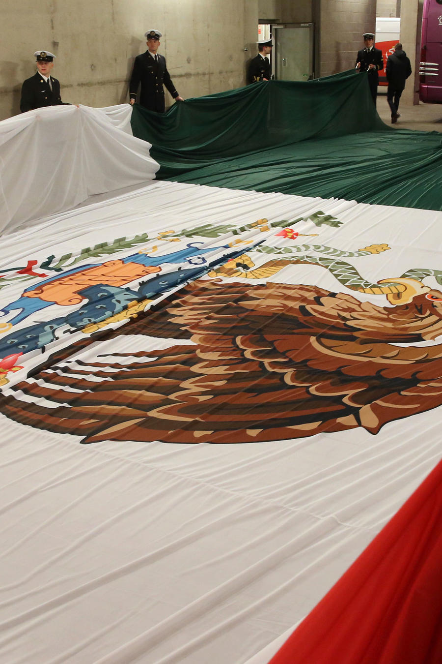 Bandera de México en una imagen de archivo