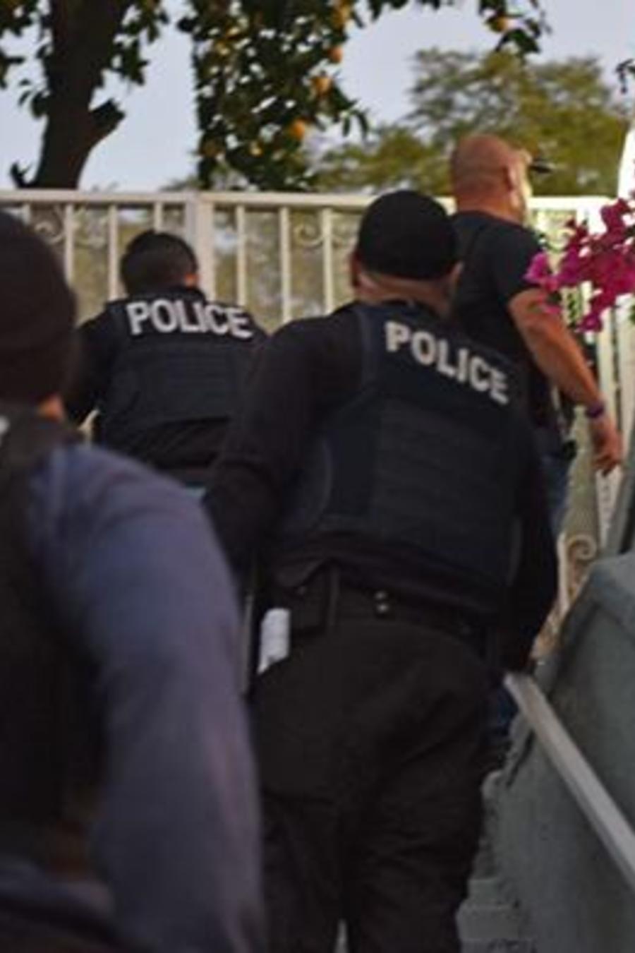 Agentes de ICE, en una imagen de archivo.