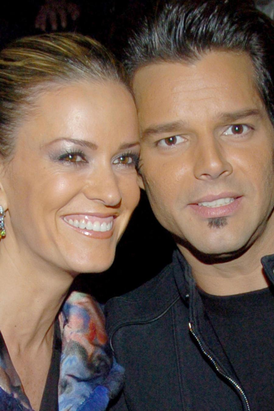 Ricky Martin y Rebecca de Alba