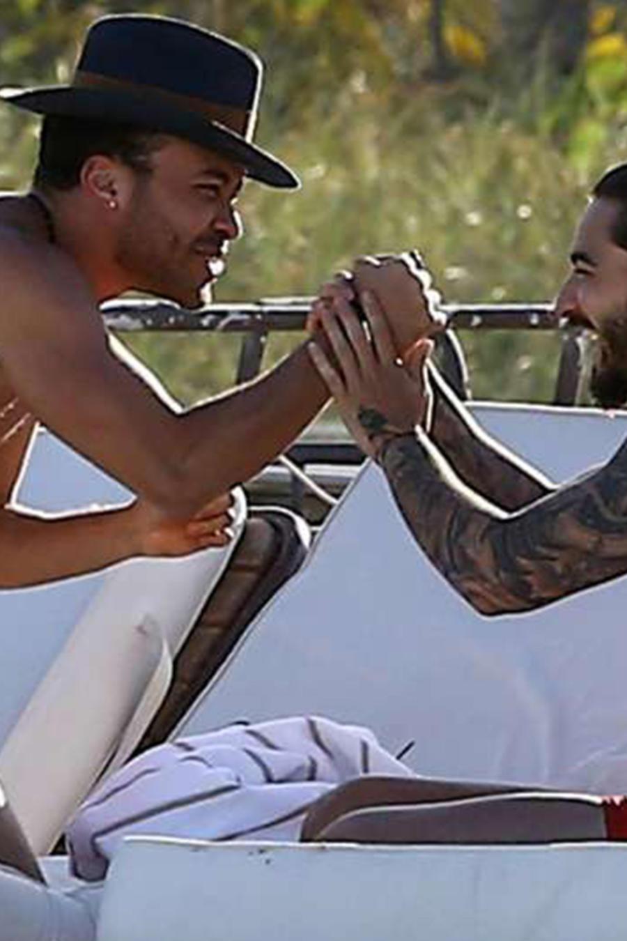 Maluma y Prince Royce