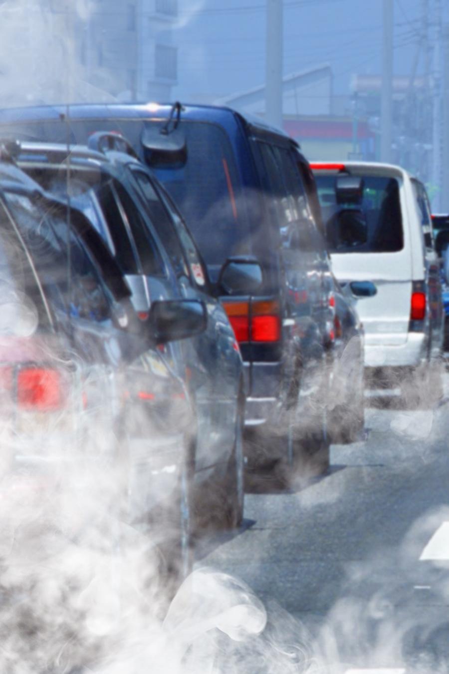 Polución proveniente de carros