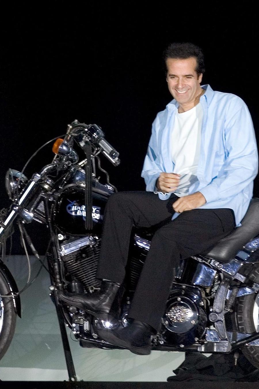 David Copperfield, en una imagen de archivo de uno de sus espectáculos.