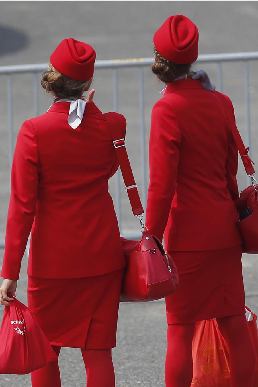 Auxiliares de vuelo