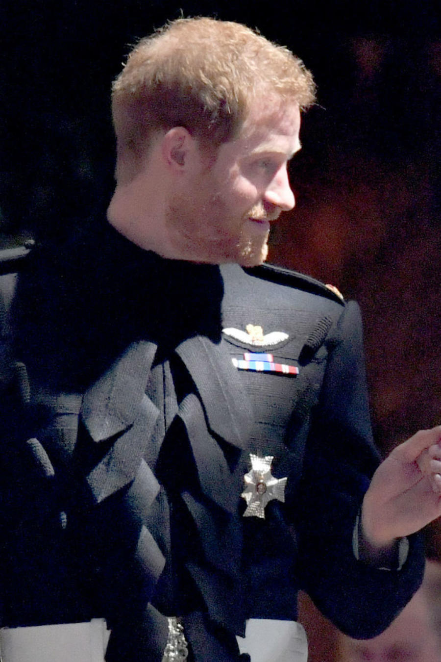 Príncipe Harry y Meghan Markle en su boda