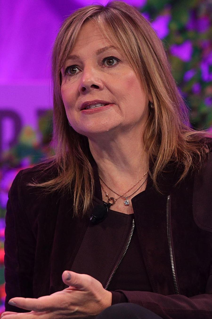 Mary Barra, CEO y directora de General Motors