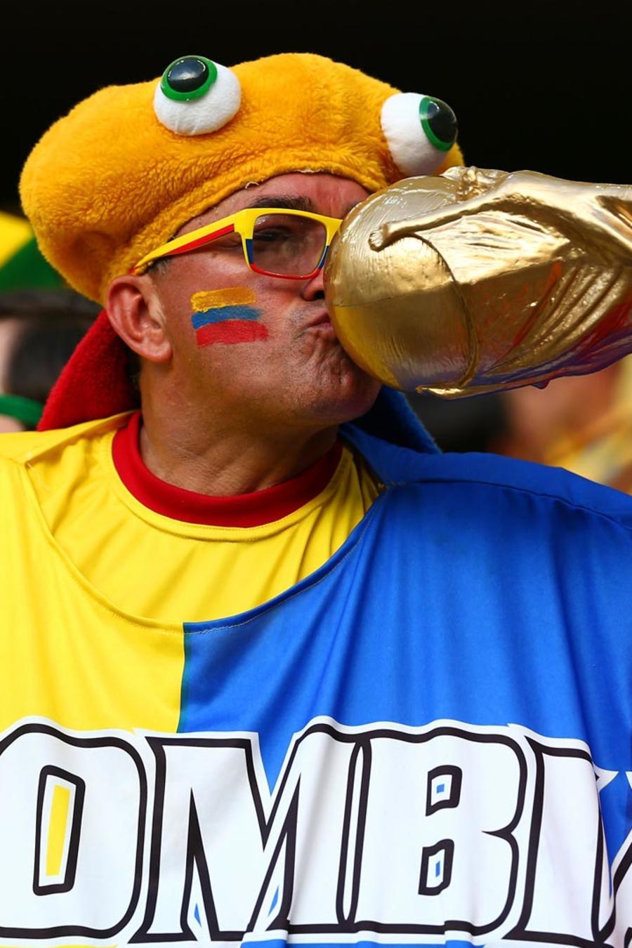 Aficionado de Colombia