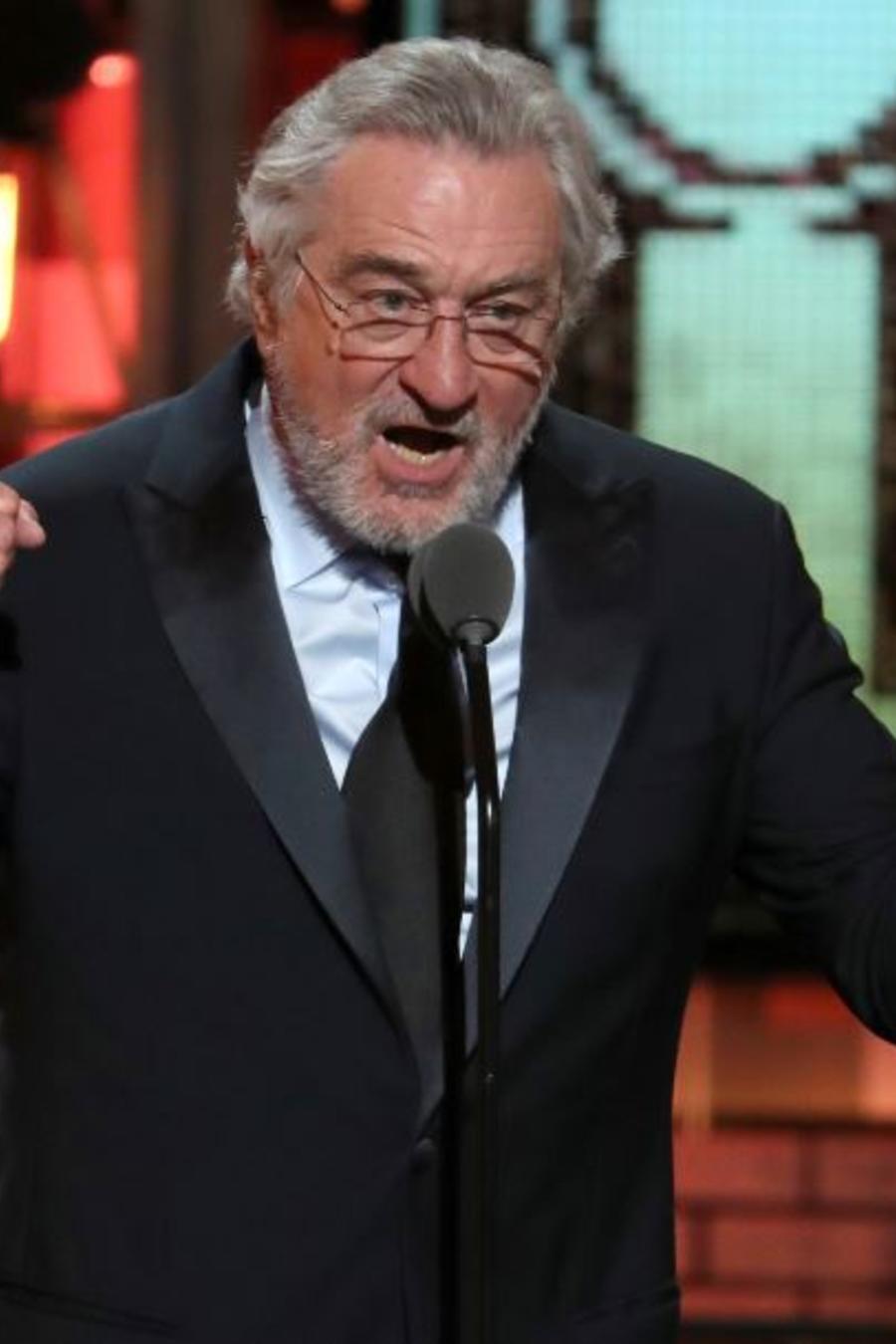 Robert De Niro en los Premios Tony.