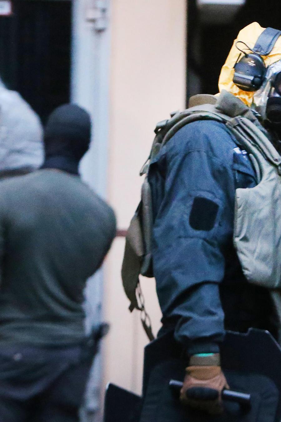 Policías alemanes registran la casa de un tunecino acusado de mantener sustancias tóxicas