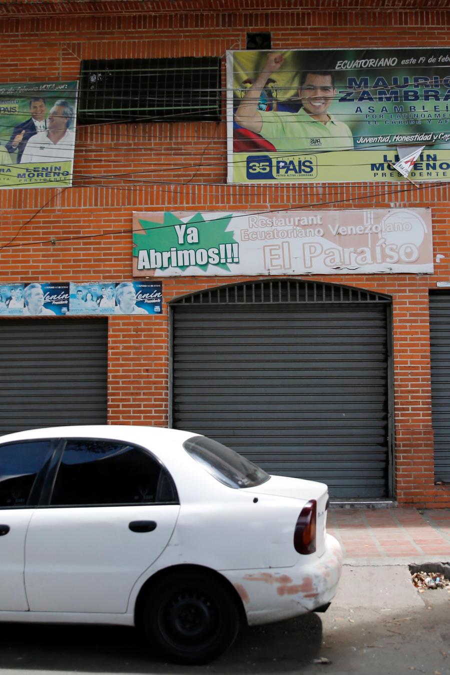 Fachada de Los Cotorros, el club nocturno donde murieron al menos 17 jóvenes en Caracas