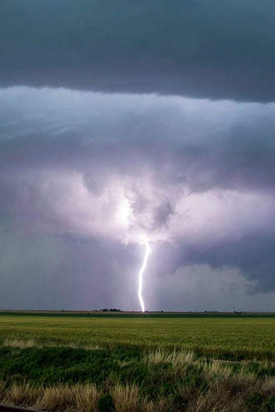 Imágenes de los cazadores de tornados