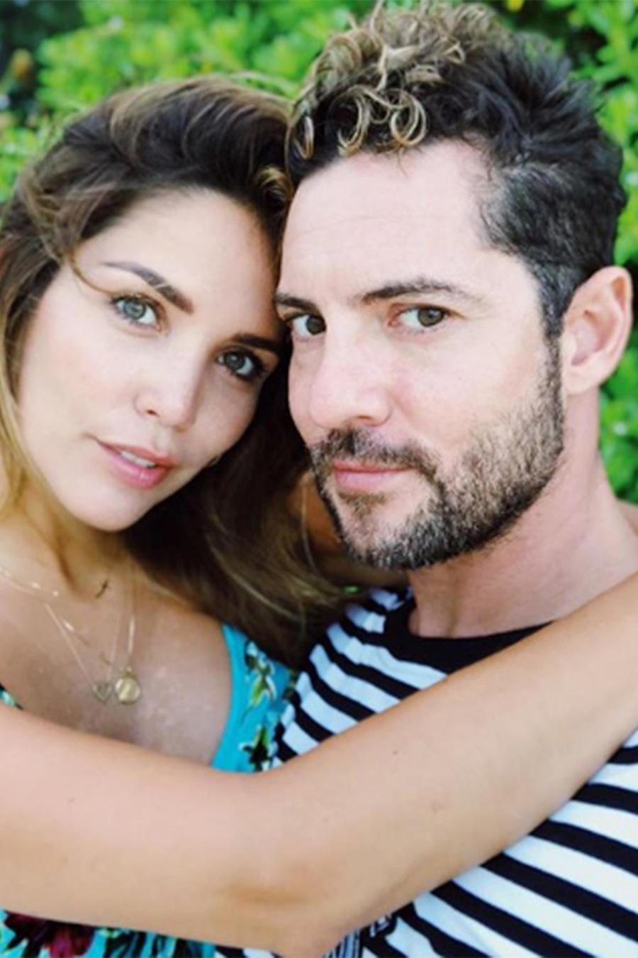 David Bisbal and Rosanna Zanetti
