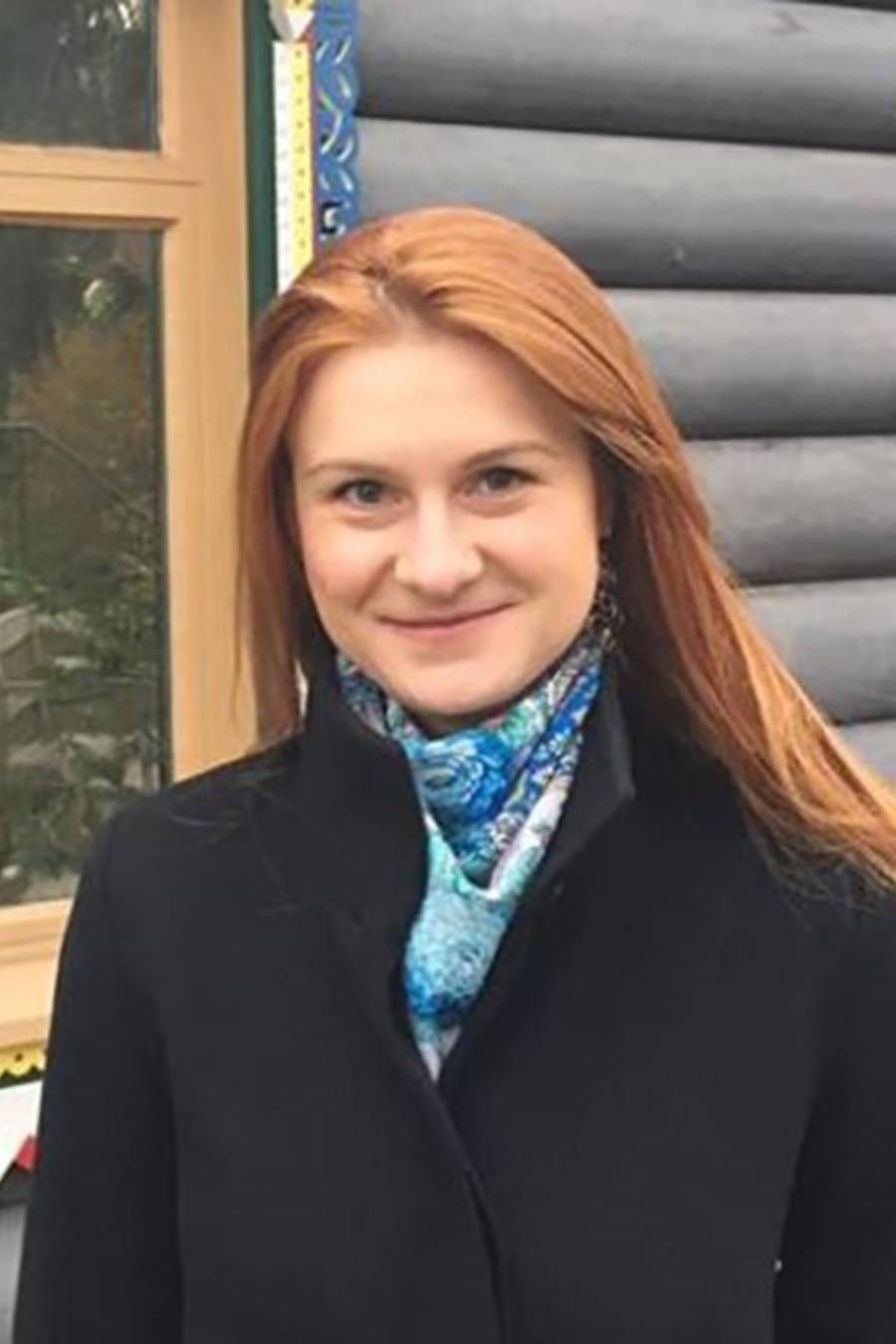 María Butina, acusada de ser espía rusa