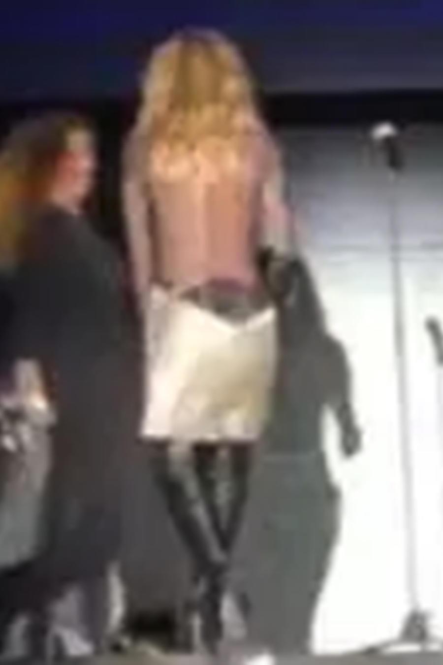 Martha Sánchez pasó un momento crítico sobre el escenario