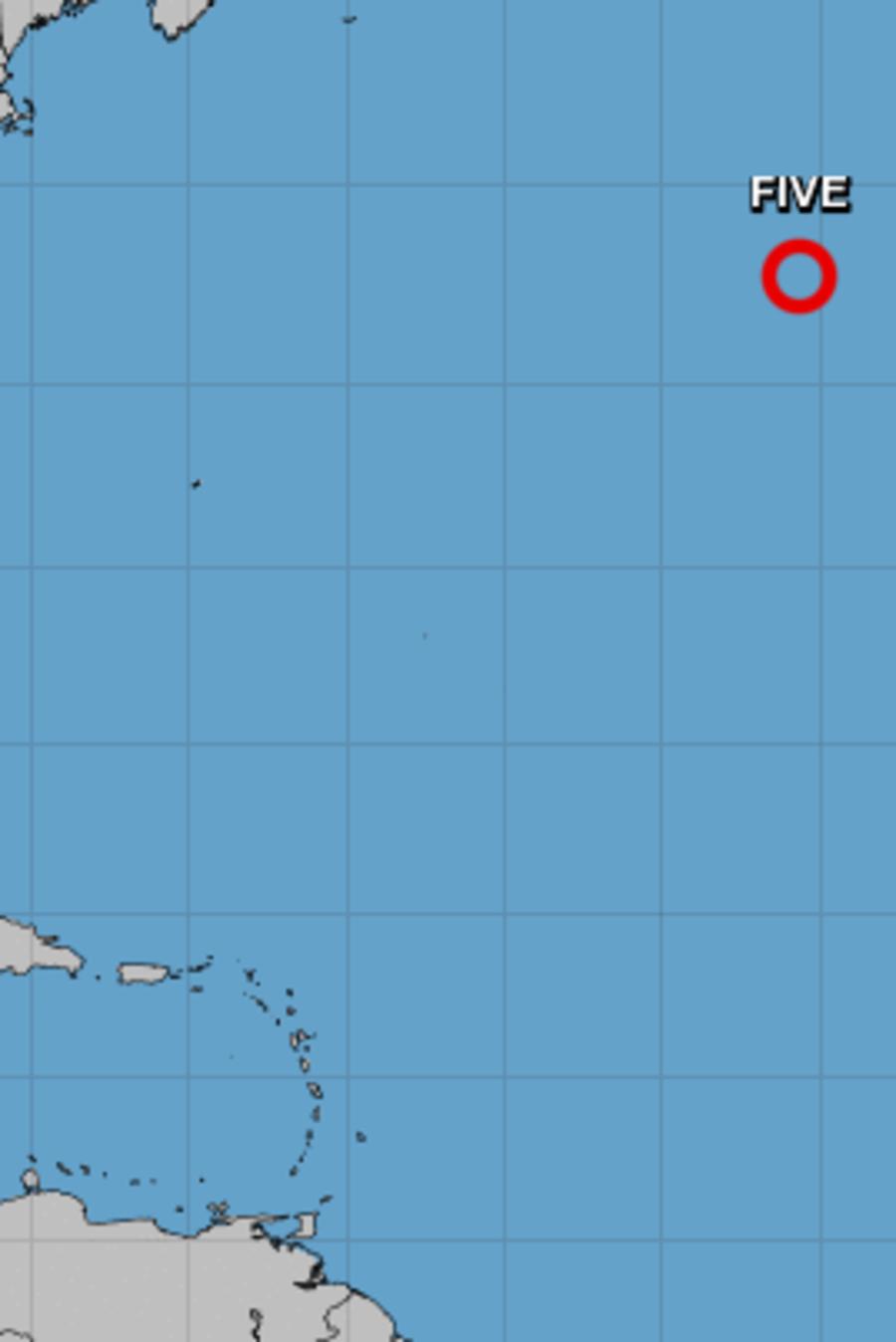 Se espera que se convierta en una tormenta subtropical este miércoles.