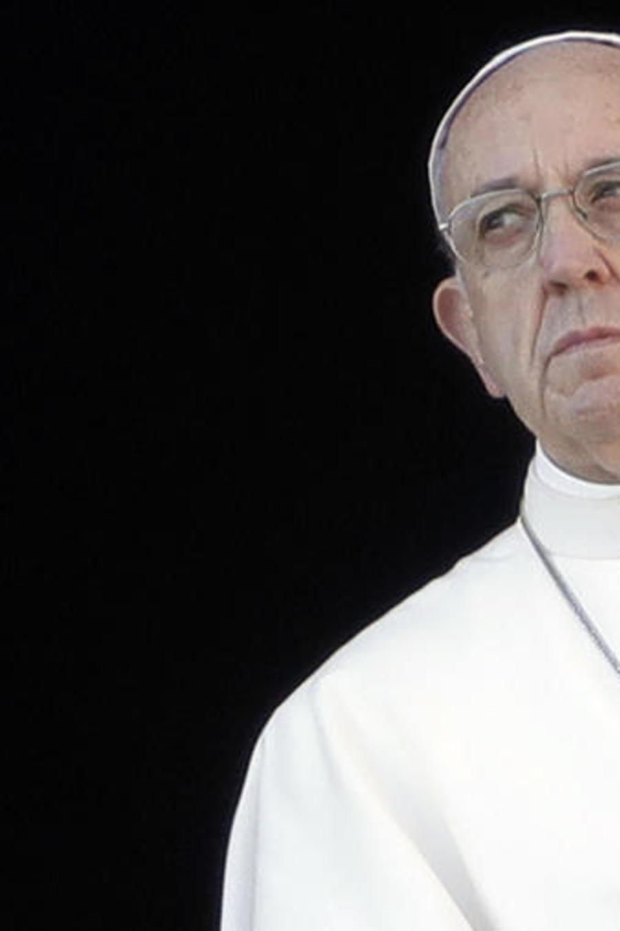 El papa Francisco en una foto de archivo.