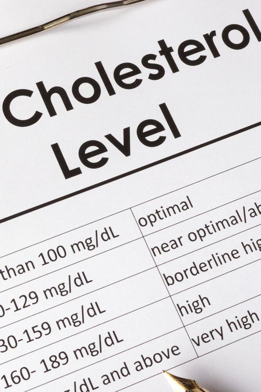 Chequeo de colesterol