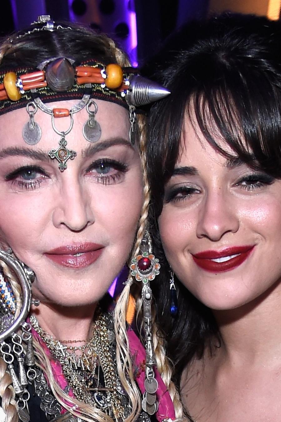 Madonna and Camila Cabello