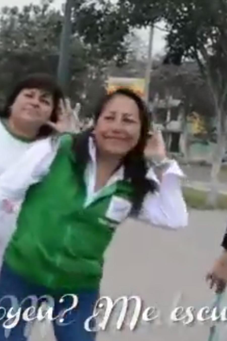 El video se hizo para promocionar su campaña electoral.