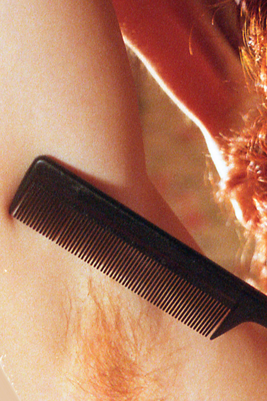 Axilas de mujer sin afeitar