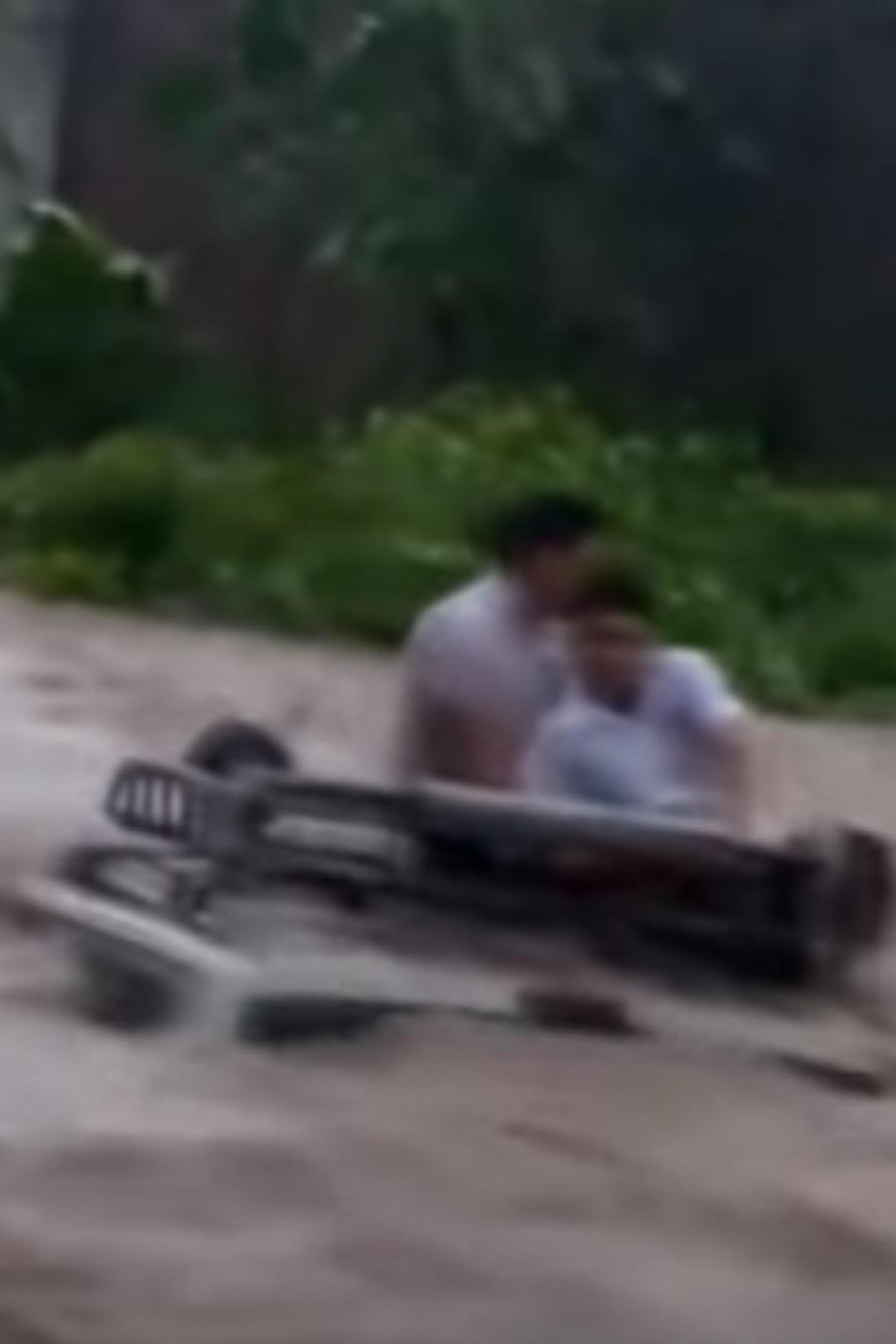 Niños rescatados