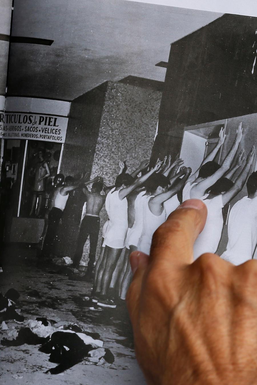 Imágenes de la matanza en México en 1968