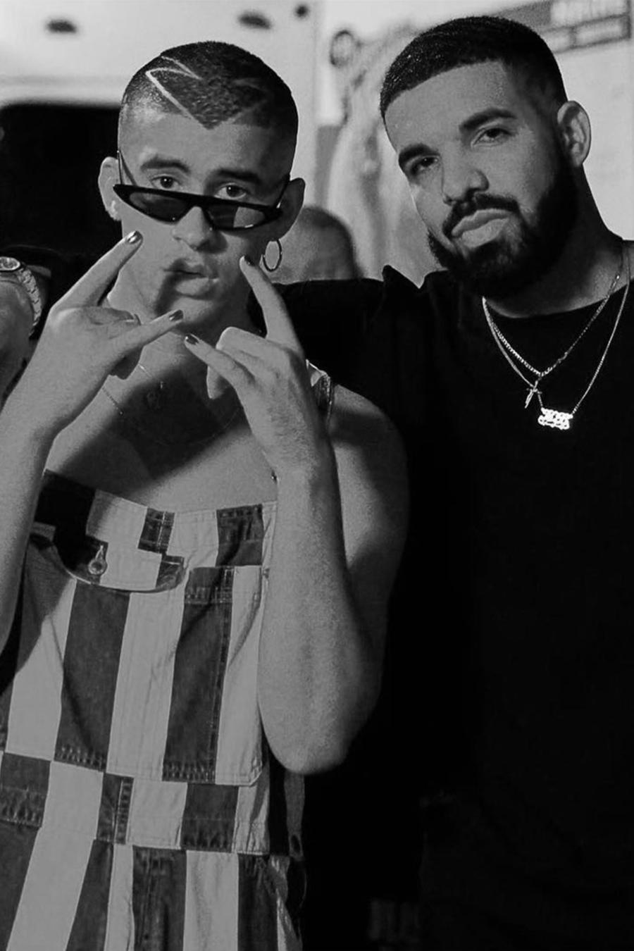 Bad Bunny and Drake