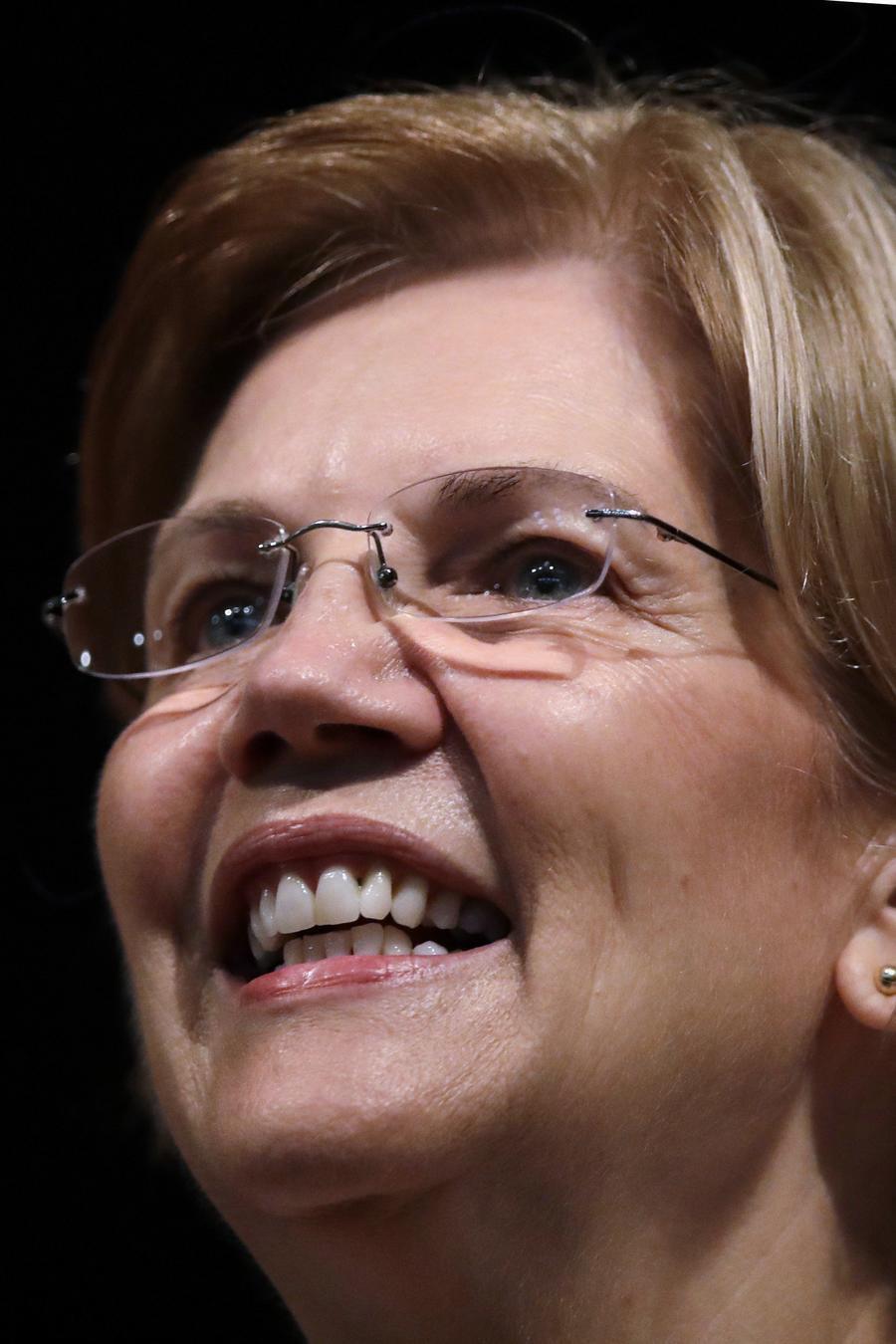 Elizabeth Warren, senadora del Partido Demócrata