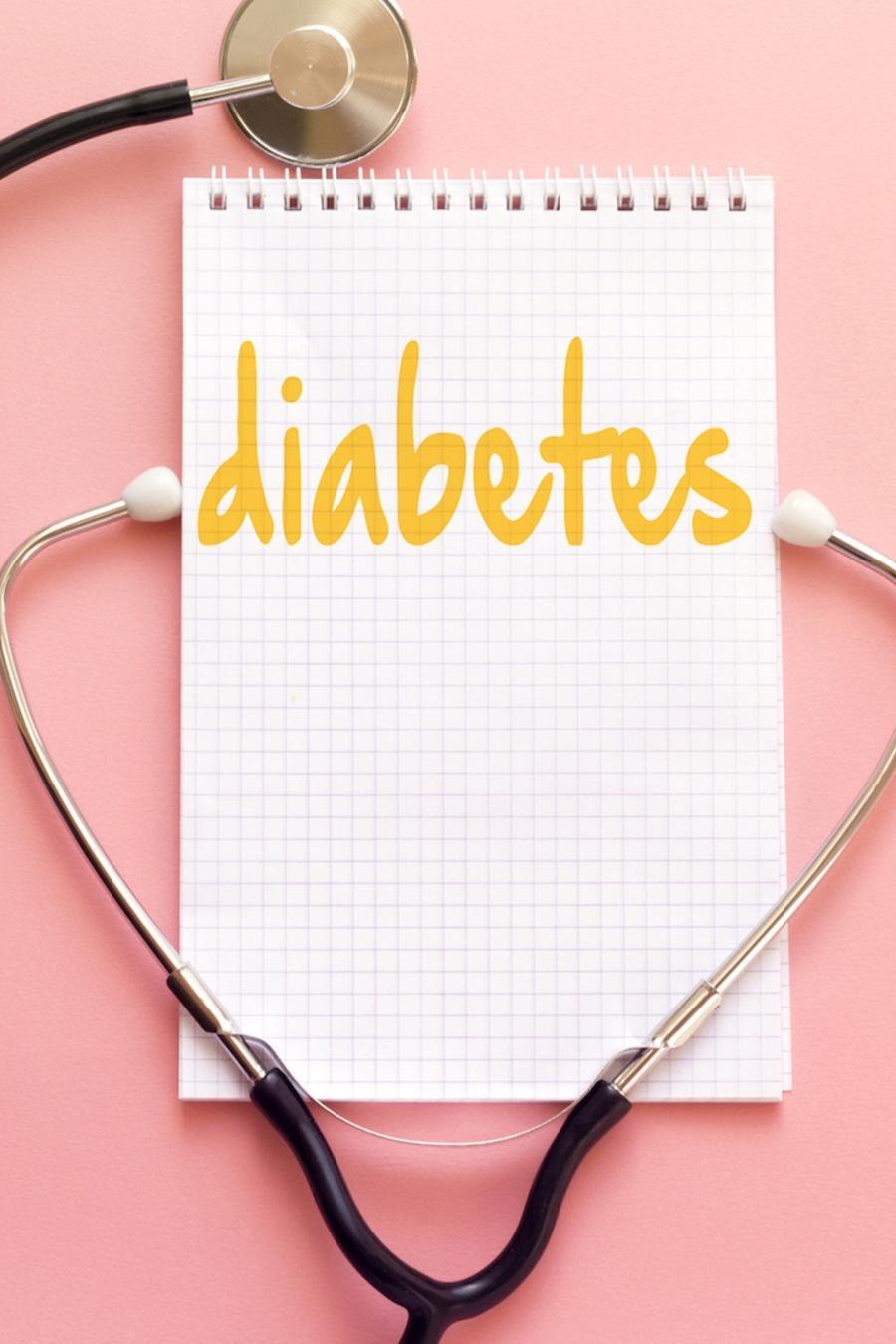 Estetoscopio y diabetes anotado