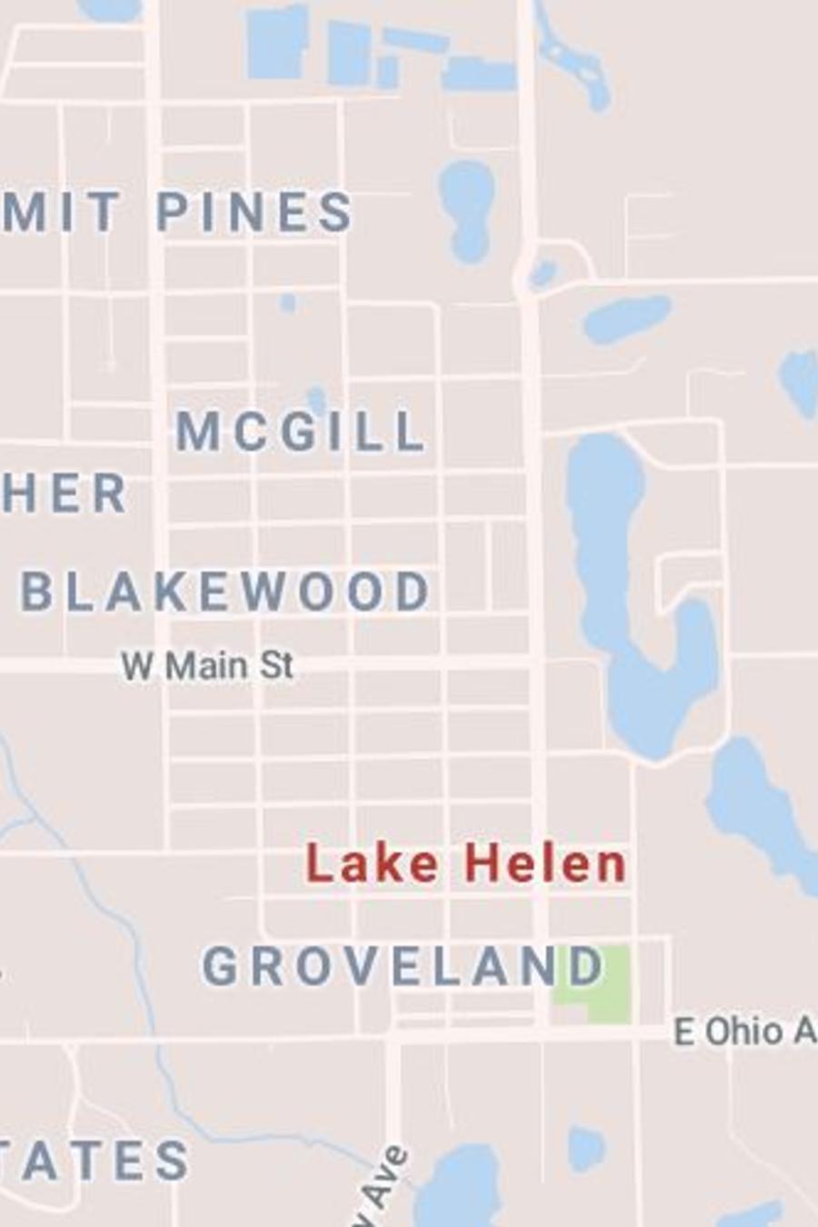 El explosivo fue hallado en el área de Lake Helen, condado de Volusia/Google Maps