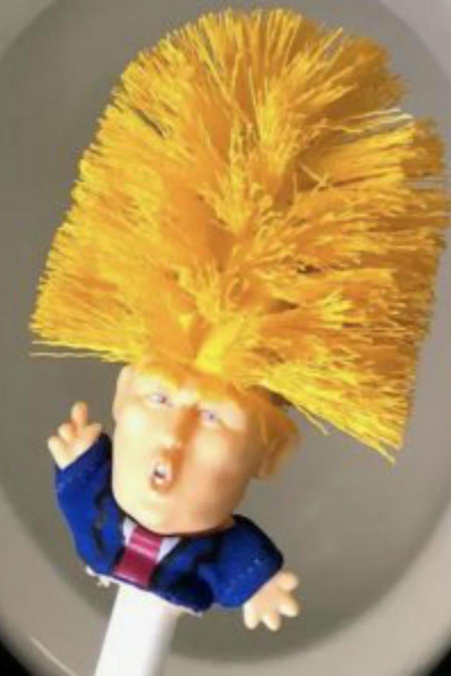 Escobilla de Donald Trump