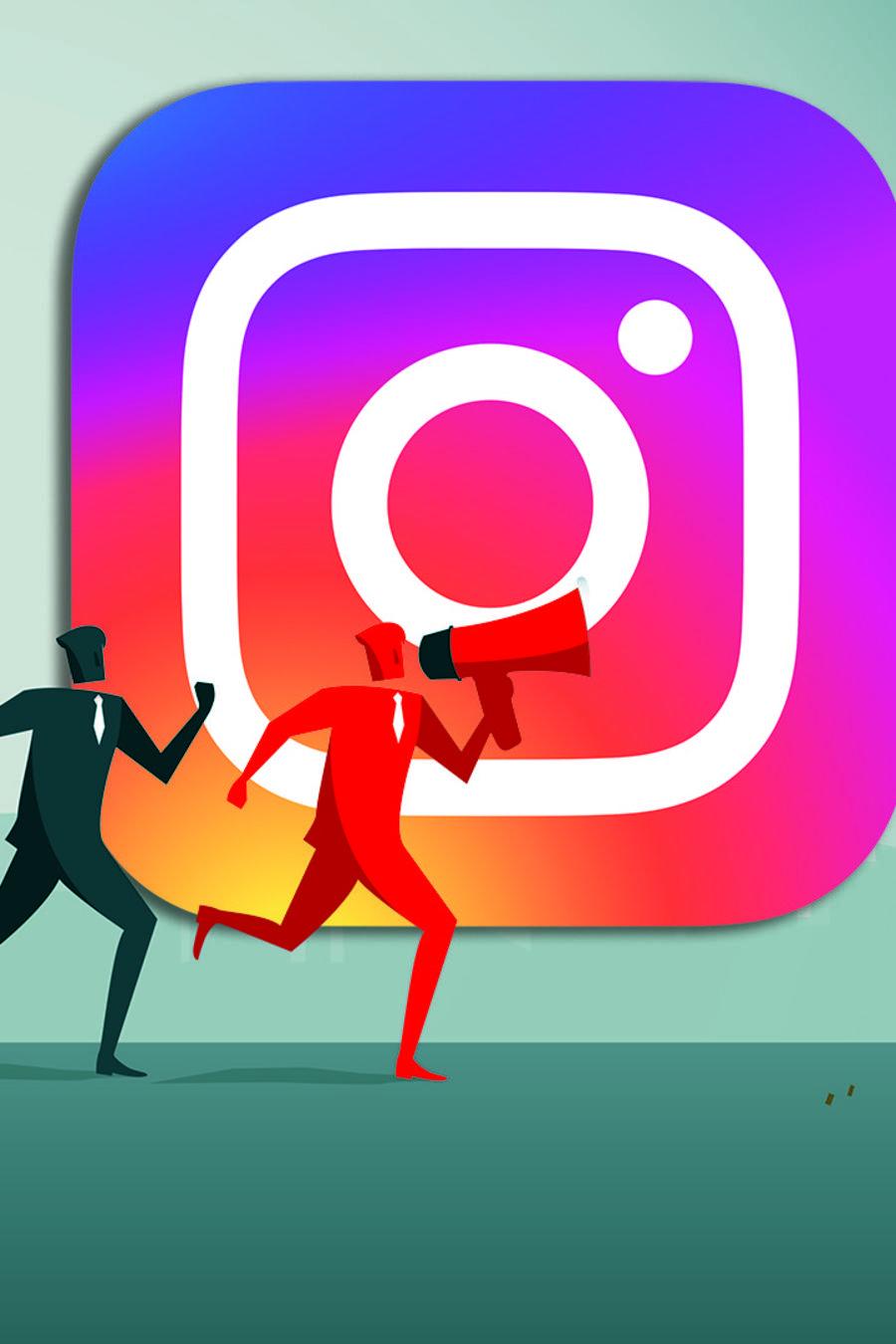 Seguidores falsos en Instagram