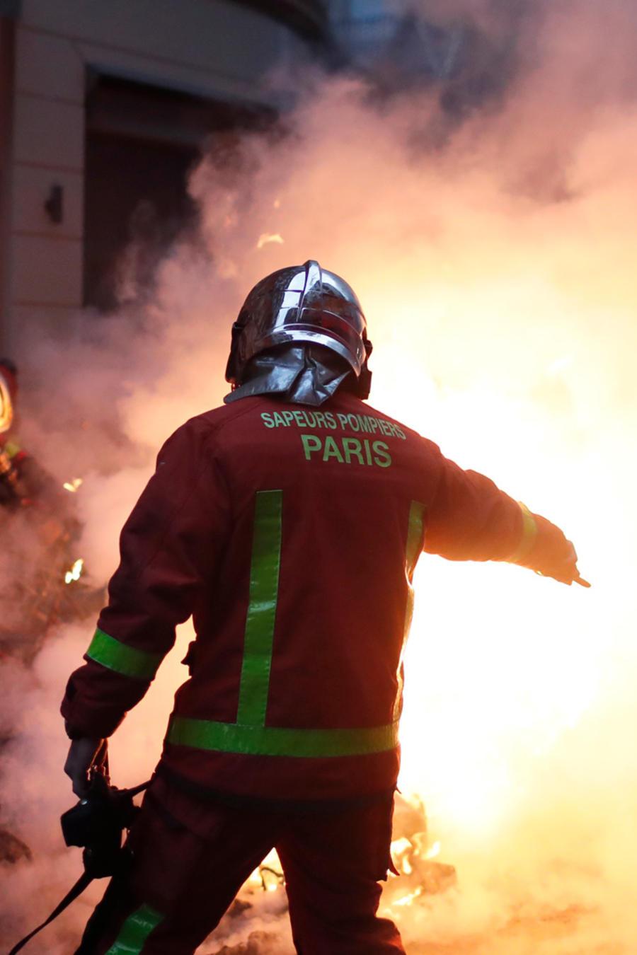 Protestas violentas en Francia hoy