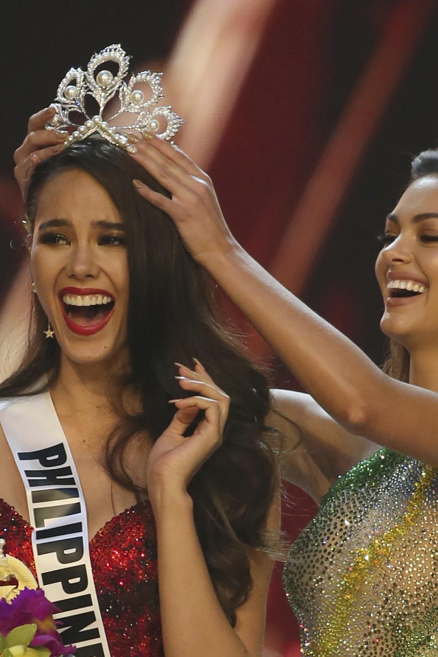 Catriona Gray,Tamaryn Green