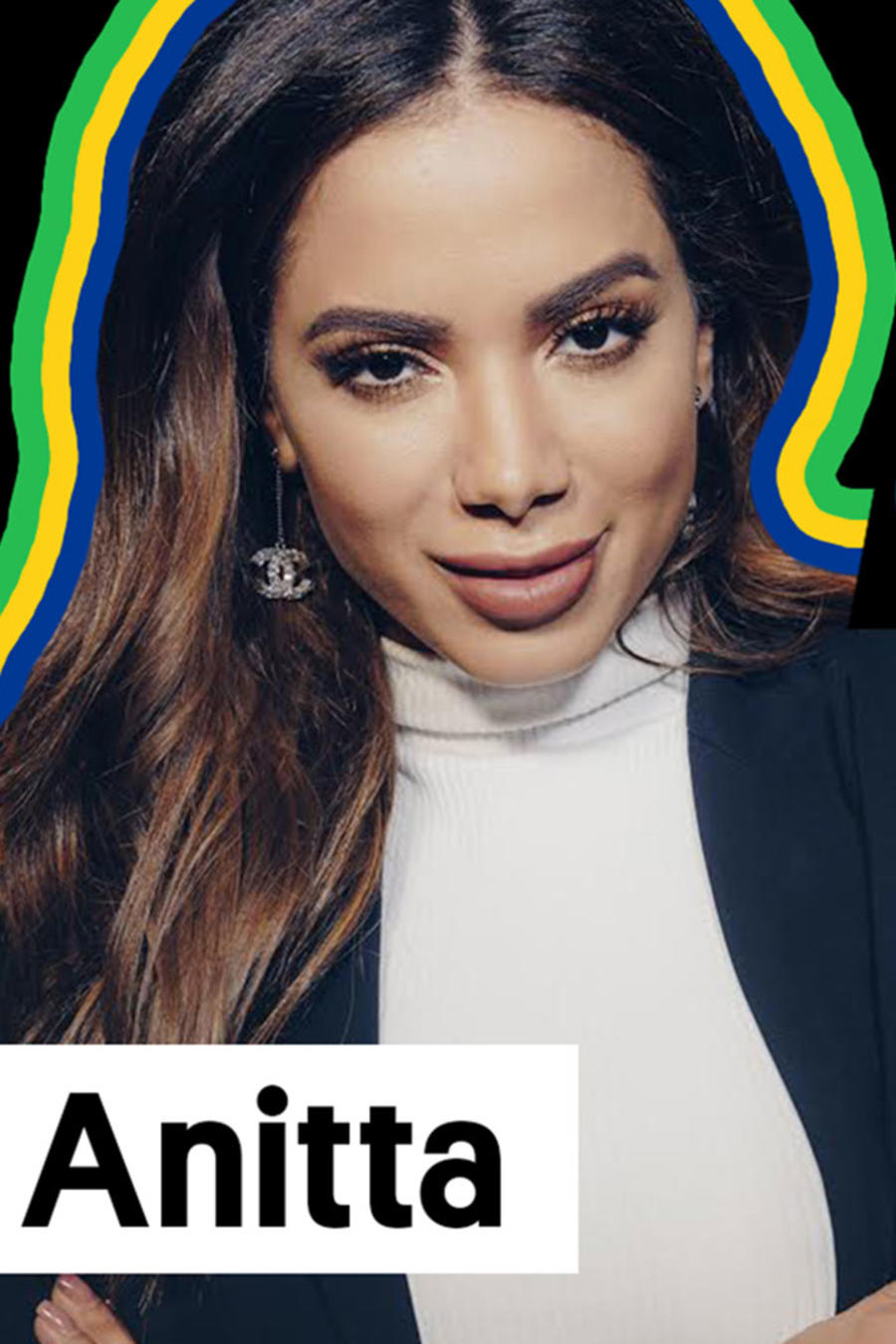 Anitta in Growing up Latino