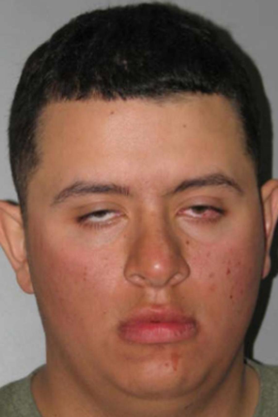Erick Hernández, acusado de homicidio por intoxicación alcohólica.