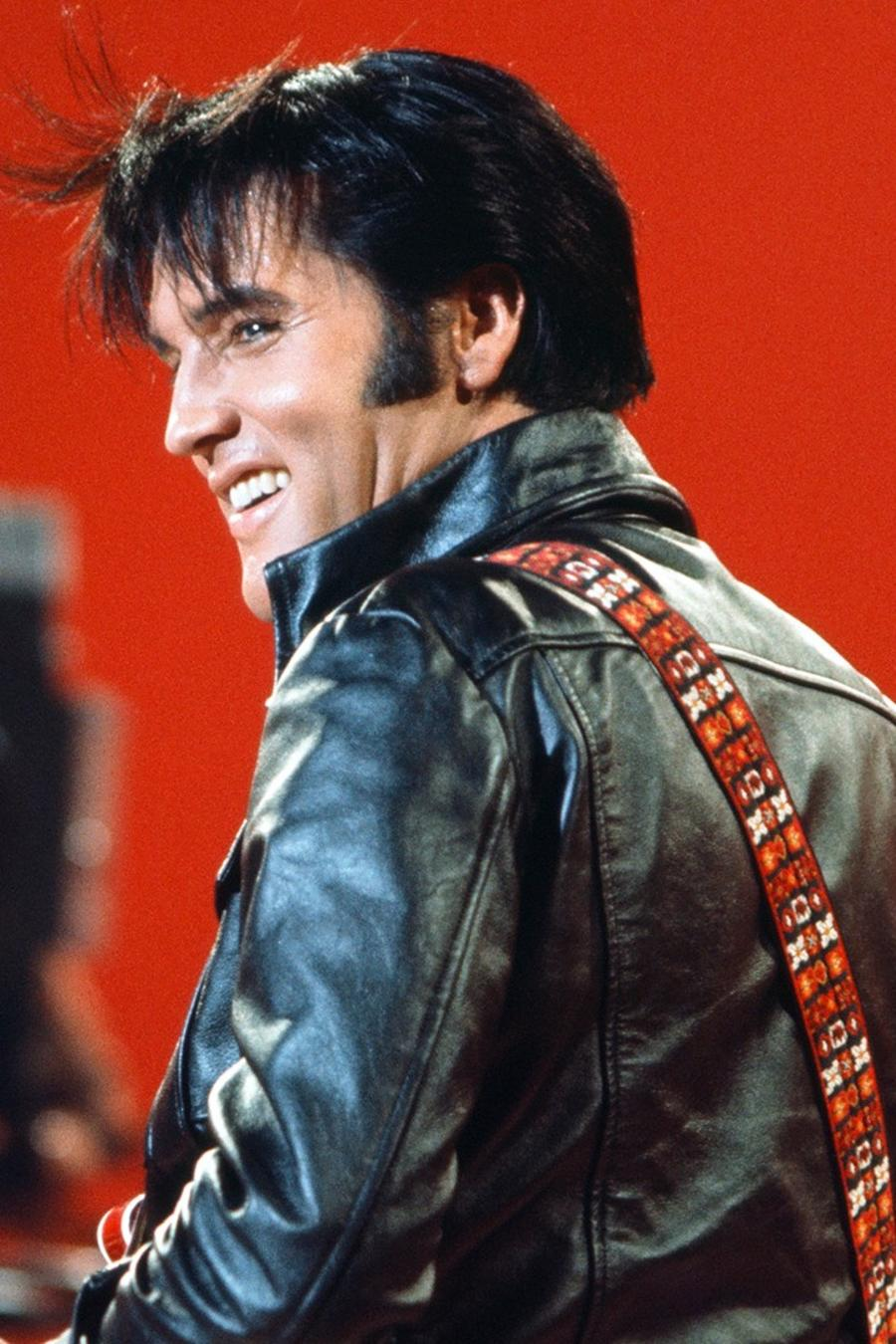 Elvis Presley during his '68 Comeback Special on NBC