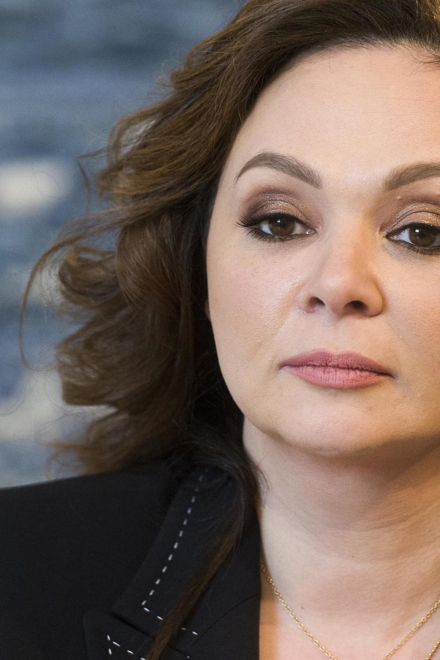 La abogada rusa Natalia Veselnitskaya durante una entrevista con The Associated Press en Moscú en abril de 2018