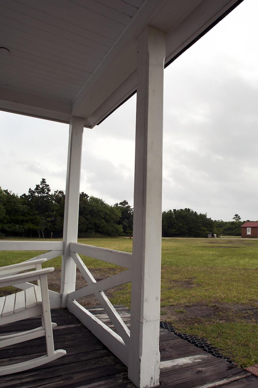 Imagen de archivo del faro del cabo Hatteras en Carolina del Norte.
